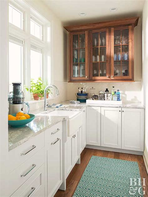 Mixed Wood Kitchen Cabinets Mixing Kitchen Cabinet Materials