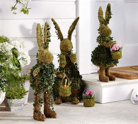easter decorations for outside 20 outdoor indoor green easter decorations