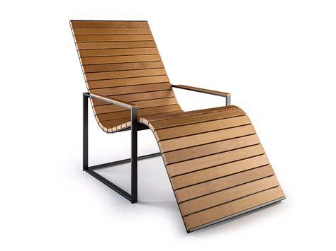 sedia sdraio in legno sedia a sdraio in legno con braccioli garden sun chair by