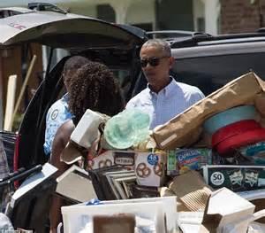 Lu Emergency National president obama heads to louisiana to survey flood damage