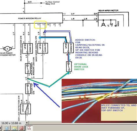 captivating toyota 4runner tailgate wiring diagram