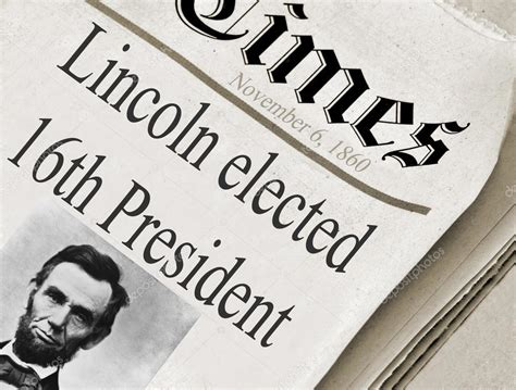 abraham lincoln was elected the 16th president of the