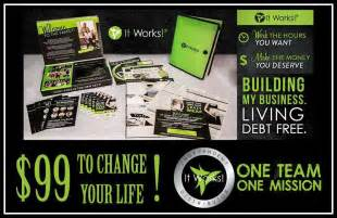 it works global business cards what you get for being an it works distributor wraps work