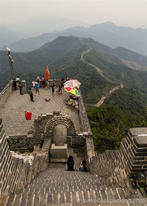 mutianyu section of the great wall mutianyu section great wall of china hawkebackpacking com