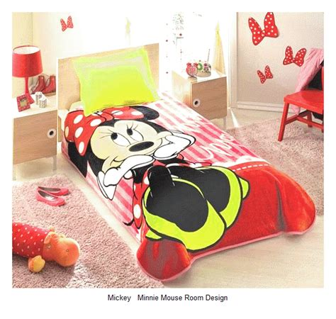 25 mickey minnie mouse bedroom design ideas home and