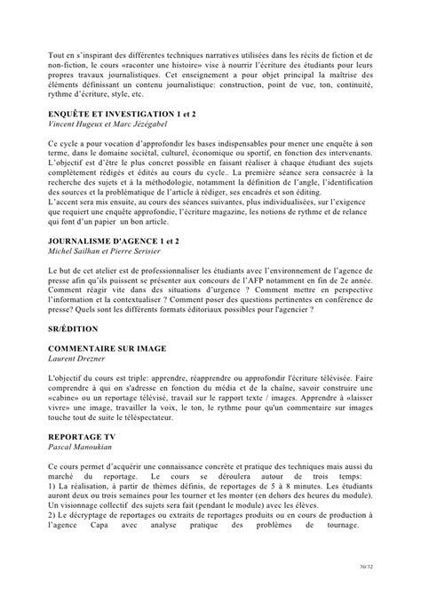 Lettre De Motivation Cole De Journalisme faq enseignants 2012 2013 ecole de journalisme de