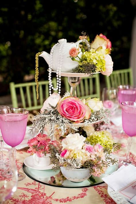 vintage centerpieces for bridal shower 25 best ideas about tea centerpieces on teacup centerpieces kitchen tea