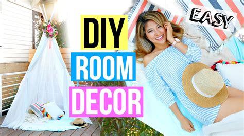 diy copper room decor 2016 lifewithchloe youtube diy room decor 2016 easy summer fort youtube