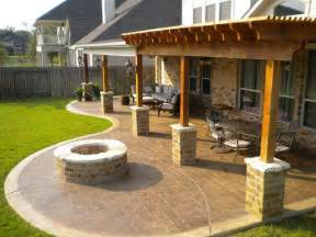 backyard patio designs sted concrete patio future home ideas pinterest concrete patios backyards and patio ideas