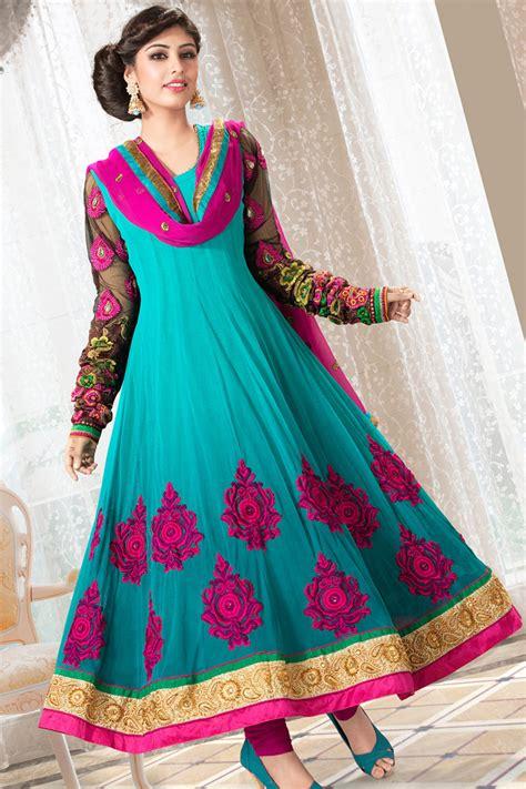 fashion styles stylish anarkali bridal dress