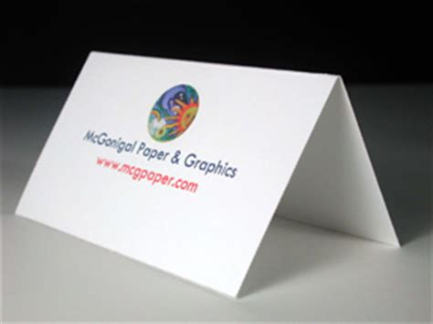 folded business cards template printable place cards for inkjet or laser printers