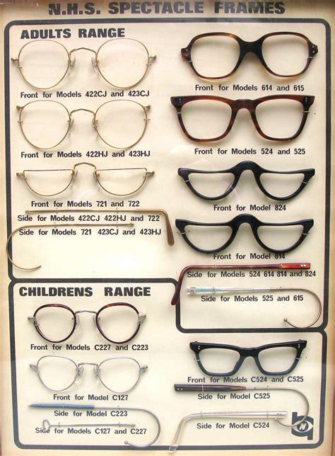nhs glasses roope vintage