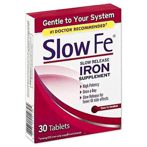 World Market Home Decor Slow Fe 174 30 Count Slow Release Iron Supplement Bed Bath