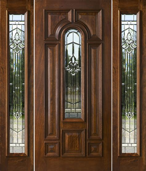 Exterior Mahogany Doors Exterior Doors With Sidelights Solid Mahogany Entry Doors