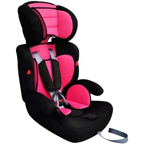 grupos de sillas de coche para ni os silla de coche para ni 241 os rosa negro grupos i ii iii
