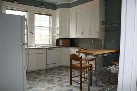 how to paint linoleum kitchen floors