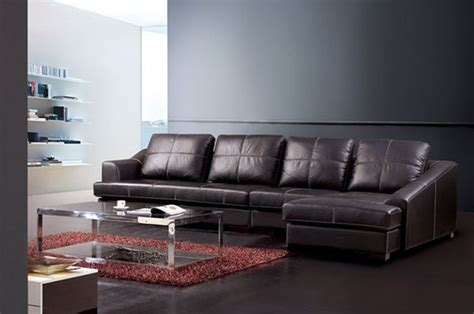 real leather sectional sofa exquisite genuine leather sectional contemporary