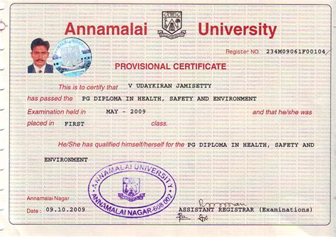 Annamalai Distance Mba Course Fee by Annamalai Nifs Institute Of And Safety