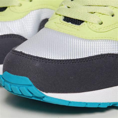 Nike Air Max 1 Citrine Yellowgridion White nike wmns air max 1 citrine yellow gridiron