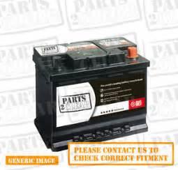 Battery For Peugeot 307 Peugeot 307 2 0 Hdi Battery Ebay