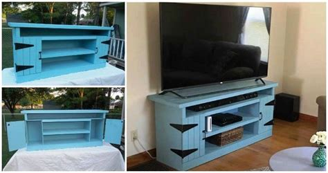 wood pallet tv stand  entertainment center pallets pro