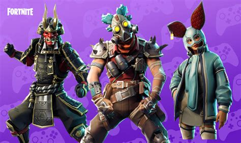 fortnite leaked skins fortnite 6 21 leaked skins revealed release date update