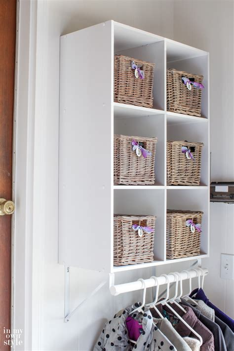 Closetmaid Closet How To Create A Mini Mudroom In My Own Style