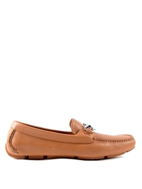 driver loafers leather driver loafers by salvatore ferragamo loafers