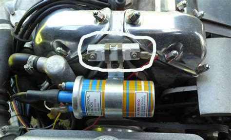 how does a ballast resistor coil work ballast resistor removed the e type forum