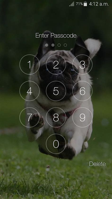 puppy lock puppy pin lock screen android apps on play