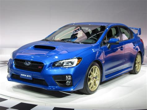 subaru cars 2015 2015 subaru wrx sti first look 2014 detroit auto show video