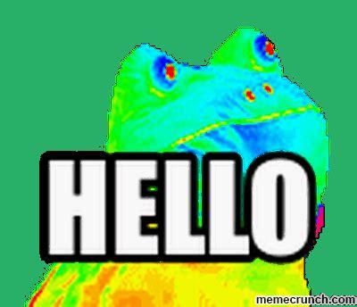 Frog Meme Generator - rainbow frog