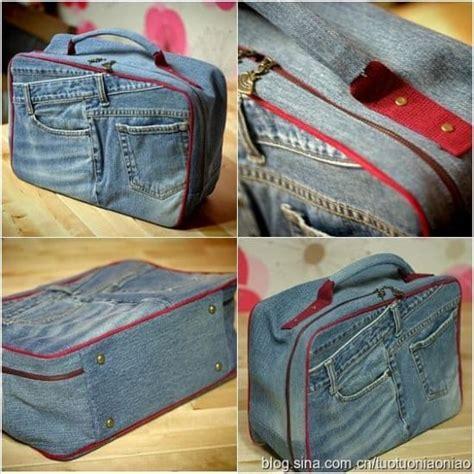 jeans backpack pattern denim jeans bag pattern easy diy video tutorial