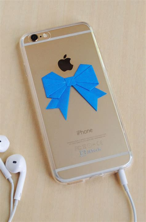 Origami Phone Holder - 18 diy phone cases to upgrade your device