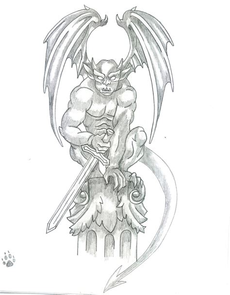 gargoyle tattoo designs gargoyle designs