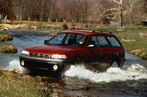 96 Subaru Outback by The Road Travelled History Of The Subaru Outback
