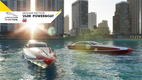 the boat jaguars jaguar vector 40 powerboats to be featured in the crew 2