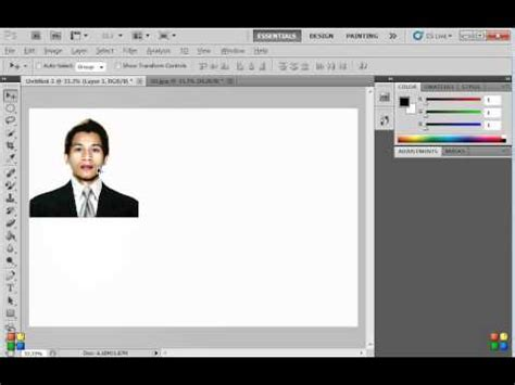 photo template editor how to create 2x2 and 1x1 id picture using photoshop