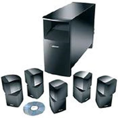 bose acoustimass 10 series ii home theater speaker systems