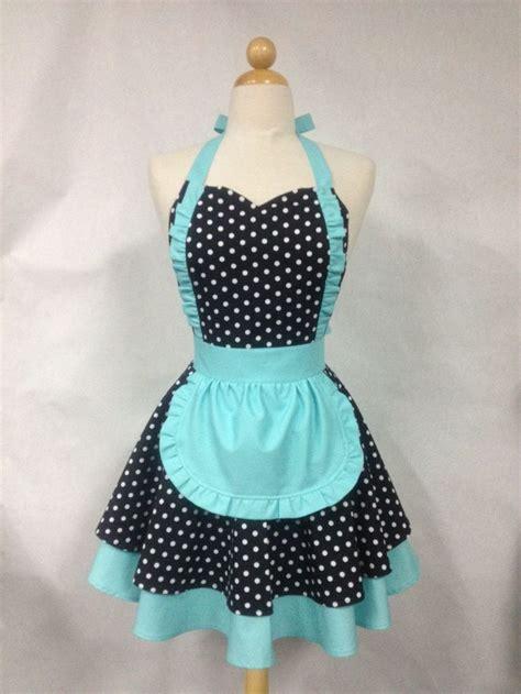 pattern for french maid apron french maid apron polka dot with aqua retro full apron