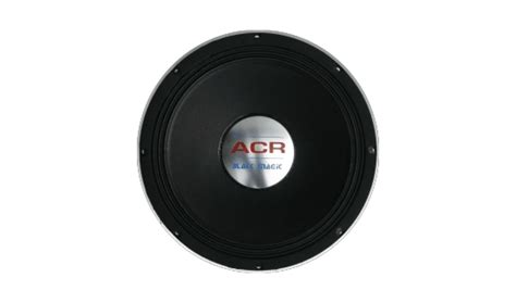 Speaker 18 Inch Acr Deluxe 12 1280 acr black magic acr speaker