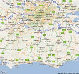map of and surrounding area areas we cover