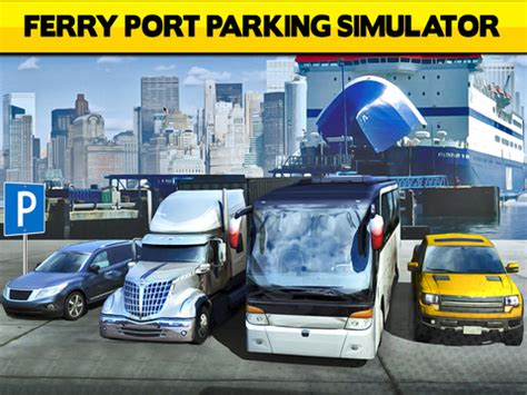 ferry port car parking simulator real