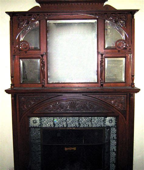 Antique Fireplace Mantles by Fireplace Mantel Mantelpiece Oak Antique For