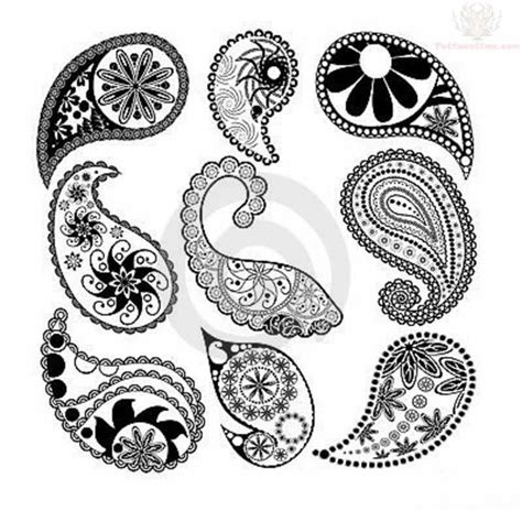 paisley pattern tattoo designs 17 best paisley animal tattoo designs women images on
