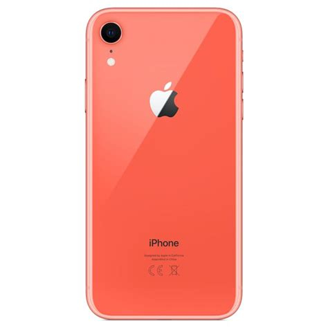 telefon mobil apple iphone xr gb coral emagro