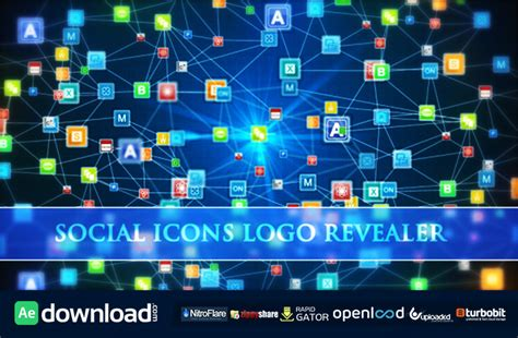 flower logo videohive free download free after social icons logo revealer free download videohive after