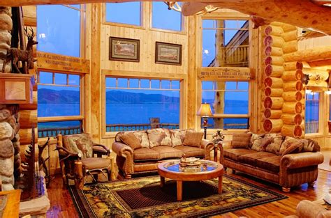 Log Cabin Home Designs manufactured log homes yellowstone log homes