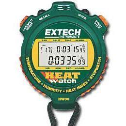 Extech Stopwatch Heat Index Hw30 extech hw30 humidity temperature hw30 stopwatch timer