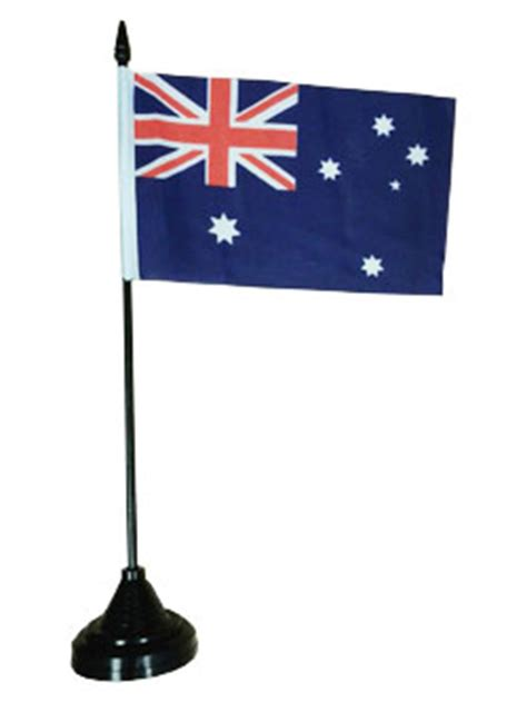 australian desk flag australian flags